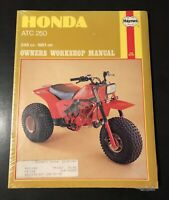 Haynes 798 Honda ATC250R ATC250  ATV Shop Service Repair Manual 1981-1982