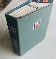 Oliver Sales Notes Shop Manual For Line Of Tractors & Equipment 1960's/70's