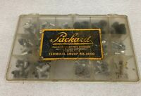 Old VINTAGE 1960s GM FORD PACKARD Wire Terminal DISPLAY Box With Terminals