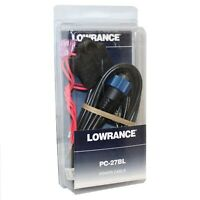 Lowrance 127-08 Power Cable For X-135, X-136Df