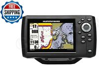 Fish Finder GPS Helix 5 G2 CHIRP Sonar Water Surface Temperature Gauge Mount New