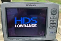 Lowrance HDS 10 GEN 1 GPS/Fishfinder with INSIGHT USA and STRUCTURE SCAN
