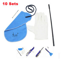 10SETS Saxophone Cleaning Care Kit Set for Clarinet Flute Wind Instrument W2K4