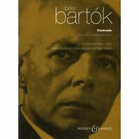 Bartok, Bela - Contrasts Sz 116 for Violin, Clarient and Piano (Corrected