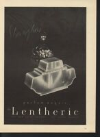 1939 SHANGHAI DE LENTHERIC PERFUME FLOWER PARIS BASKET BOTTLE FRAGRANCE 16856