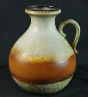 SCHEURICH KERAMIK VASE 495 - 20 GERMANY POTTERY Brown
