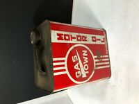 VINTAGE GAS-TOWN MOTOR OIL TWO GALLON METAL CAN