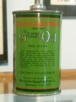 Rare Green Winchester Oil Can in Amazing Condition !