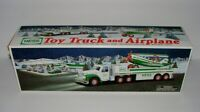 HESS TRUCK - 2002 - TOY TRUCK AND AIRPLANE  - NEW IN BOX