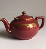 HALL POTTERY Tea Pot 013 Victorian Style 6 cup Made In The USA
