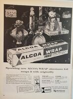 Lot of 3 ALCOA Aluminum Foil Vintage Ads Advertisements