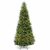 Tree Forest Natural Spruce - 10 Ft Artificial Christmas Tree LED Lights