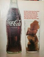 Lot of 3 Vintage Coca Cola Ads Print