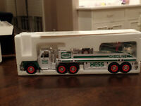 Hess - 2002 Toy Truck & Airplane - New In Original Box - Real Head & Tail Lights