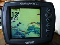 Garmin FISH FINDER 160C Color With Cords,Display Cover & Dash Mount