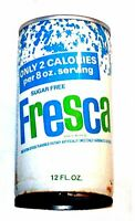 Vintage Fresca Pull Tab Top Soda Pop Can A1+ Pepsi Flat Cone Sign Coke Ofr