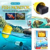 Portable Fish Finder Wifi Wireless Underwater HD Camera Fishing Detector Logger