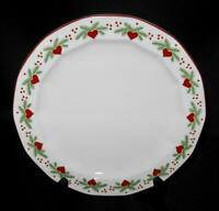 RARE Porsgrund Norway HEARTS & PINES Multi-Sided Salad Plate 7.75