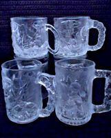 Vintage McDonald's Collectable Glass Mugs BATMAN FOREVER (See Selections)