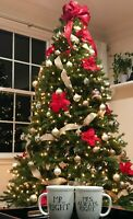 GE 7.5ft Pre-Lit Oakmont Spruce Artificial Christmas Tree - BRAND NEW!!!