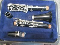 BUNDY CLARINET- ADJUSTED AND READY TO PLAY    sold by The Band Guy