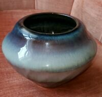 Bill Campbell Pottery Bowl Vase Planter Signed Perfect Condition