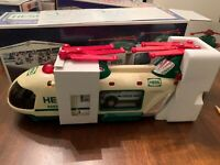2012 Hess Toy Truck Helicopter and Rescue New in Box,