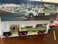 Vintage HESS Toy Truck and Airplane 2002 NIB. See Photos Truck Coloring