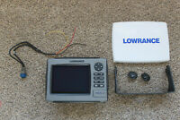 LOWRANCE HDS 7 GEN 1 COLOR GPS FISH FINDER COMPLETE WITH GIMBAL BRACKET, KNOBS,