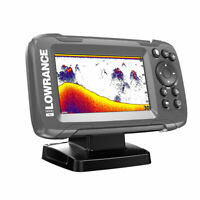 HOOK2 4X 4-inch Fish Finder with Bullet Skimmer Transducer, Brand New
