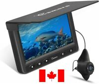 Moocor Underwater Ice Sea Fishing Camera, 4.3 Inch LCD, 1000 TVL Infrared