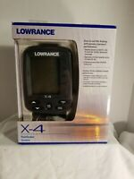 Lowrance X-4  portable fishfinder up to 600ft 60 degree detector  new old stock