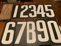 OLD Set Of Dr. Pepper Co. Baseball Scoreboard Numbers - Lawton OK - With Box