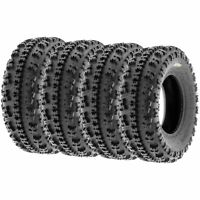 Set of 4, 23x7-10 23x7x10 Quad ATV All Trail AT 6 Ply Tires A027 by SunF