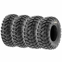Set of 4, 26x9R14 & 26x11R14 Replacement ATV UTV SxS 6 Ply Tires A043 by SunF