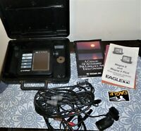 Eagle Magna II Fish Finder with Transducer / Untested