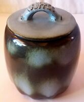 Vintage Frankoma Prairie Green/Woodland Moss 25C Coffee Canister/Container