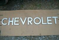 #x27;CHEVROLET#x27; Sign Letters