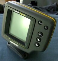 Humminbird Wide Optic Fish Finder With Tilt & Swivel BaseHead Unit-Tested