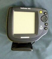 Humminbird Fishfinder 535 Head Unit W/Mounting Bracket-Owners Man.-Tested-Works