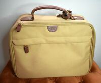 Bric's Carry On Vintage Suitcase Topper Leather Travel Bag Brown Italy
