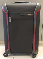 NEW Tumi Red & Black Lightweight International Carry-on Travel Luggage #283520
