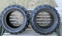 GBC Motorsports Spartan AT26x11R14 ATV Tires Used Good Condition 8 Ply