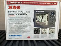 Lowrance X96 X 96 Fish Depth Finder Sonar NOS BRAND NEW