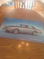 Vintage Chevrolet Sign Chevy CAPRICE Classic Dealership Showroom Sign Poster Ad