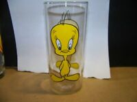 VINTAGE 1973 TWEETY BIRD GLASS PEPSI COLLECTOR SERIES WARNER BROS LOONEY TUNES