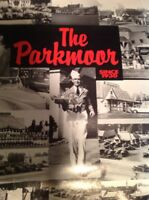 THE PARKMOOR Vintage Poster Historic St. Louis Drive In Tray Service Restaurant