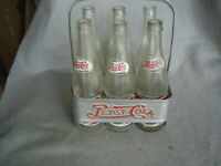 Pepsi medal 1940,s era  ( Clean)  with 6  bottles