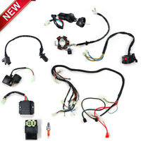Electric Wiring Harness Magneto For GY6 125cc 150cc ATV with 6 coil stator
