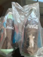 BURGER KING KIDS CLUB Premium: unopened Coca Cola Top and Wind Up lot of 2
